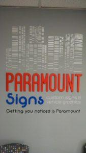paramountwallsign