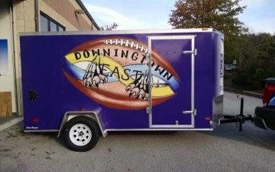Downingtown, PA – Custom Vinyl Vehicle Graphics for Trailer (Full Wrap) – w/ Pics