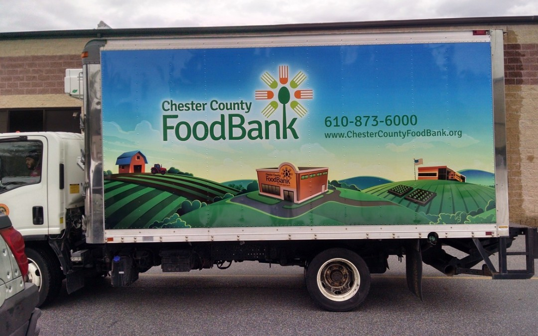 Thousands of Impressions in Exton, PA with Delivery Vehicle & Truck Graphic Vinyl Wraps