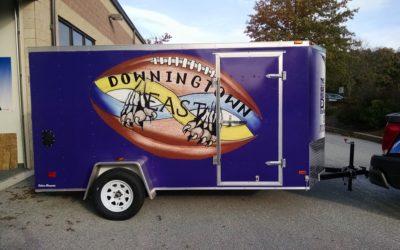 Downingtown, PA – Custom Vinyl Vehicle Graphics for Trailer (Full Wrap) – w/ Pics